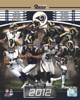 Framed St. Louis Rams 2012 Team Composite