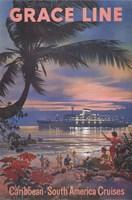 Framed Caribbean