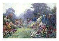 Framed Summer Garden