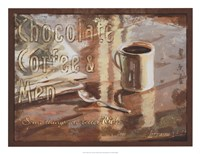 Framed Coffee, Men, Chocolate