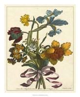 Framed Floral Posy IV
