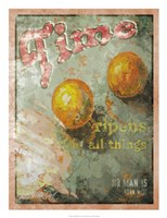 Framed Time Ripens All Things
