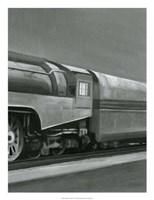 Framed Vintage Locomotive III