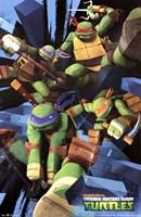 Framed Teenage Mutant Ninja Turtles - Attack