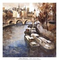 Framed Notre-Dame, Paris