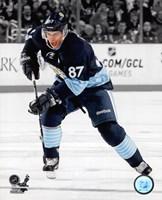 Framed Sidney Crosby 2012-13 Spotlight Action