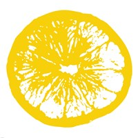 Framed Yellow Orange Slice