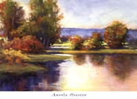 Framed Lake View 1