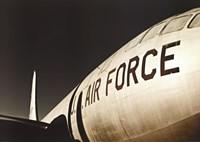 Framed Air Force Airplane