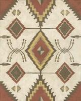 Framed Non-Embellished Native Design I
