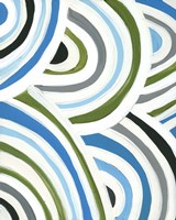 Framed Swirly Bob I
