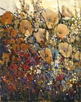 Framed Bright & Bold Flowers I