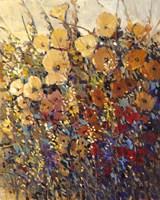 Framed Bright & Bold Flowers II