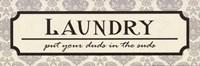 Framed Laundry Suds - mini