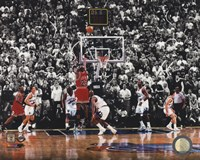 Framed Michael Jordan 1998 NBA Finals Game Winning Shot
