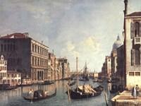 Framed Grand Canal, Venice