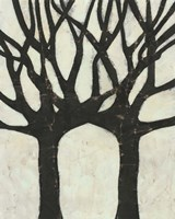 Framed Batik Arbor II