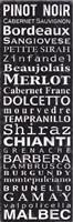 Framed Pinot Noir - Black