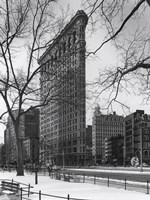 Framed Flatiron Building NYC