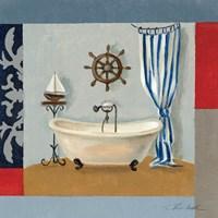 Framed Nautical Bath II