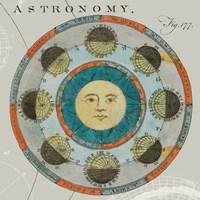 Framed Lunar Calendar
