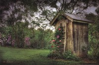 Framed Fragrant Outhouse