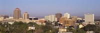 Framed Buildings in a city, Albuquerque, New Mexico, USA