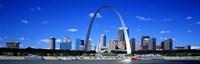 Framed Skyline, St Louis, MO, USA