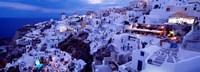 Framed Santorini at Dusk, Greece