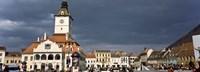 Framed Town Center, Brasov, Transylvania, Romania