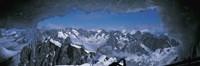 Framed Cave Mt Blanc France