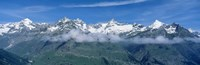 Framed Swiss Alps, Switzerland