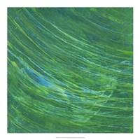 Framed Green Earth I