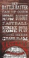 Framed Baseball