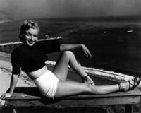 Framed Marilyn Monroe 1951