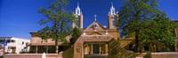 Framed Facade of a church, San Felipe de Neri Church, Old Town, Albuquerque, New Mexico, USA