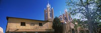 Framed Low angle view of a church, San Felipe de Neri Church, Old Town, Albuquerque, New Mexico, USA