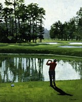 Framed Golf Course 9