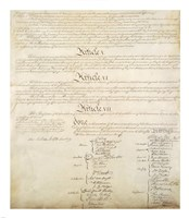 Framed Constitution of the United States IV