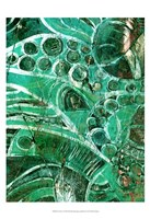 Framed Sea Glass I