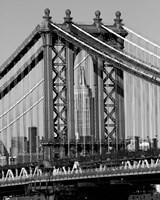 Framed Bridges of NYC I