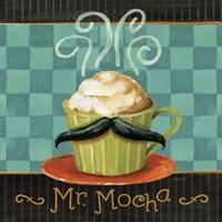 Framed Cafe Moustache V Square