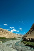 Framed Markha Valley, India