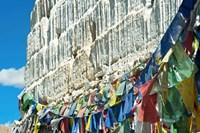 Framed Prayer Flags, Leh, Ladakh, India