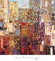 Framed City Sunshower