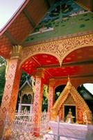 Framed Sen Temple, Wat Sen, Luang Prabang, Laos
