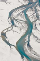 Framed Dart River, near Glenorchy, Queenstown Region, South Island, New Zealand