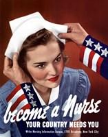 Framed Become a Nurse