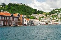 Framed Grenada, St George, Carenage, Residential area
