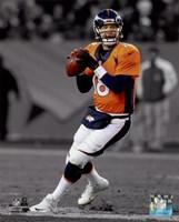 Framed Peyton Manning 2014 Spotlight Action